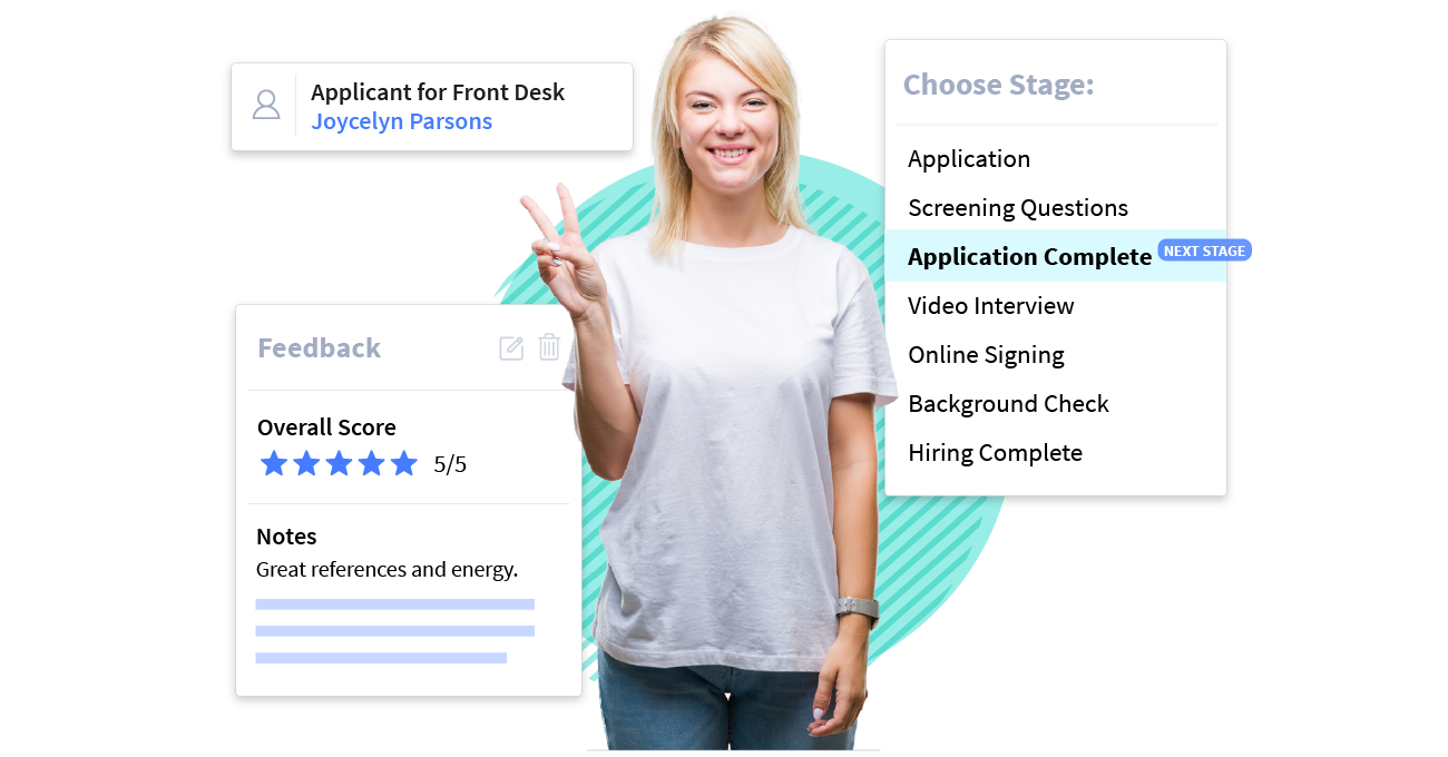 Customize hiring workflows and stages